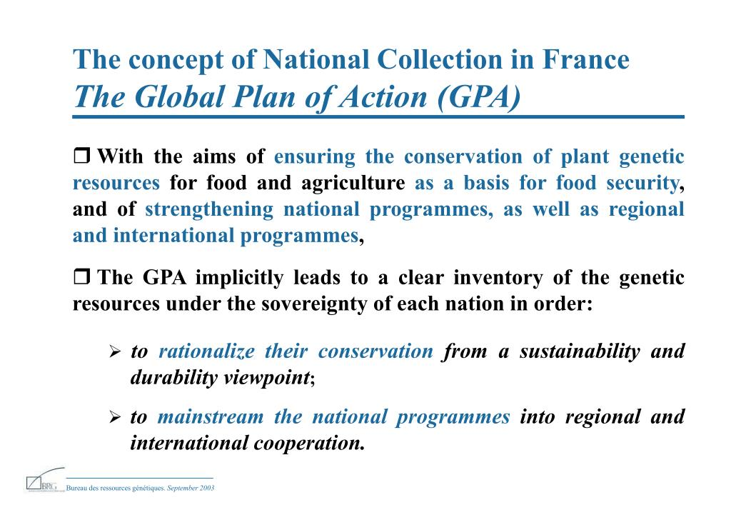 The concept of National Collection in France