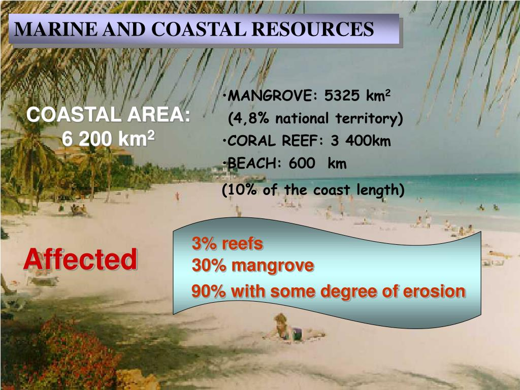 MARINE AND COASTAL RESOURCES