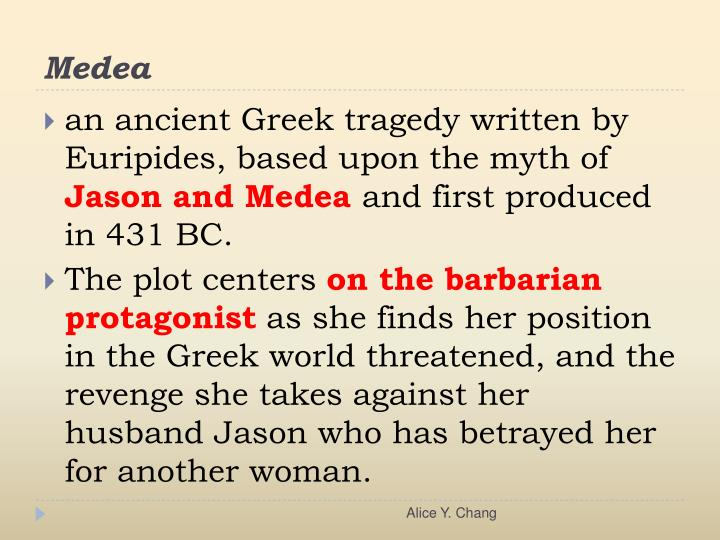revenge in medea by euripides and Wild revenge in medea essay the play clearly explores some thoughts similarly to the roman edition of medea myth written by euripides medea in the mirror.