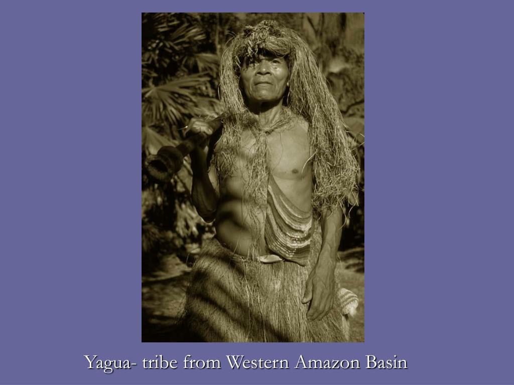 Yagua- tribe from Western Amazon Basin