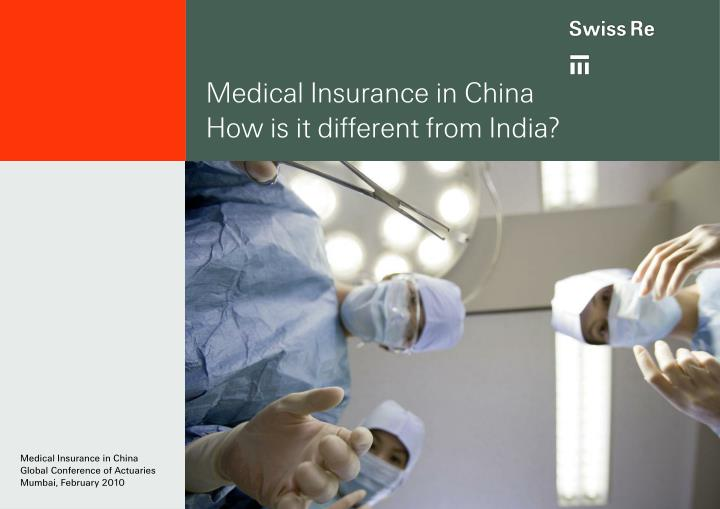 Medical Insurance in China