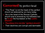 governed by perfect head1