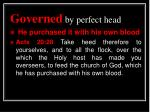 governed by perfect head5