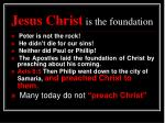 jesus christ is the foundation1