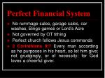 perfect financial system1