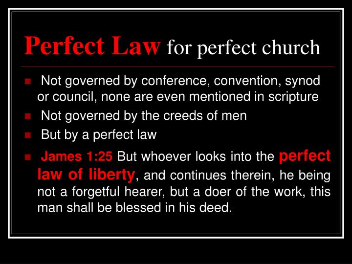 Perfect Law
