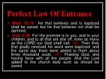 perfect law of entrance1