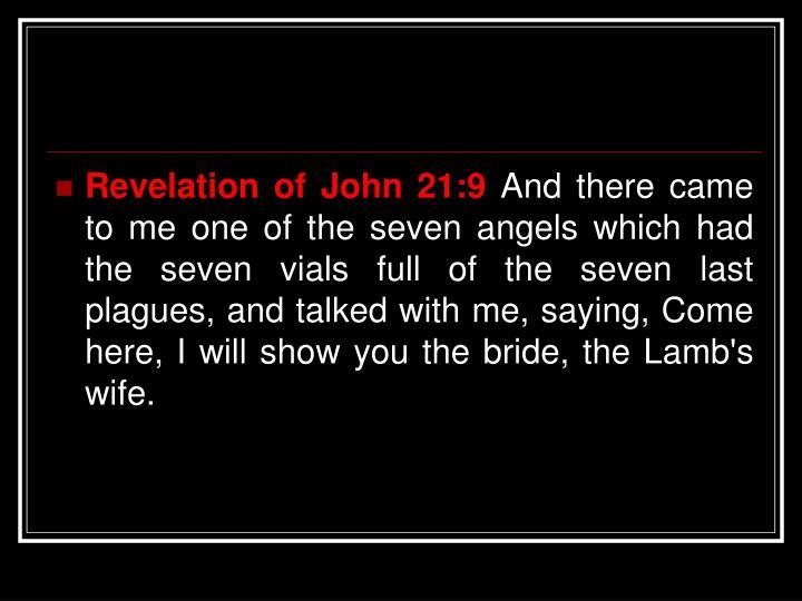 Revelation of John 21:9
