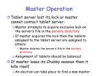 master operation34