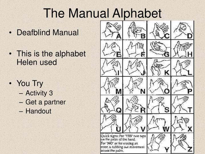 Deafblind Manual