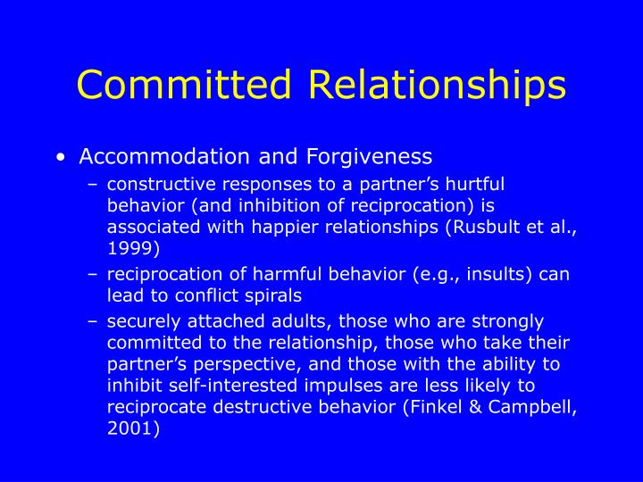 Committed relationship vs dating services
