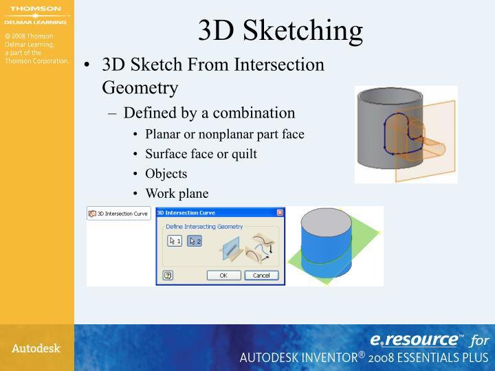 3D Sketching