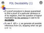 fol decidability 1