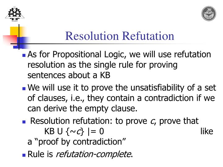 Resolution Refutation