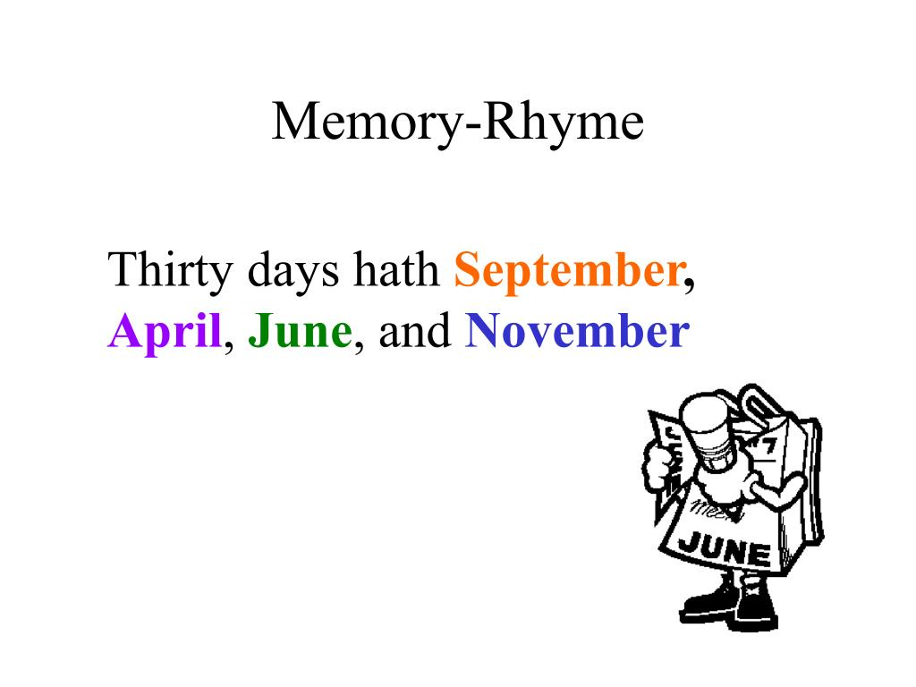 Memory-Rhyme