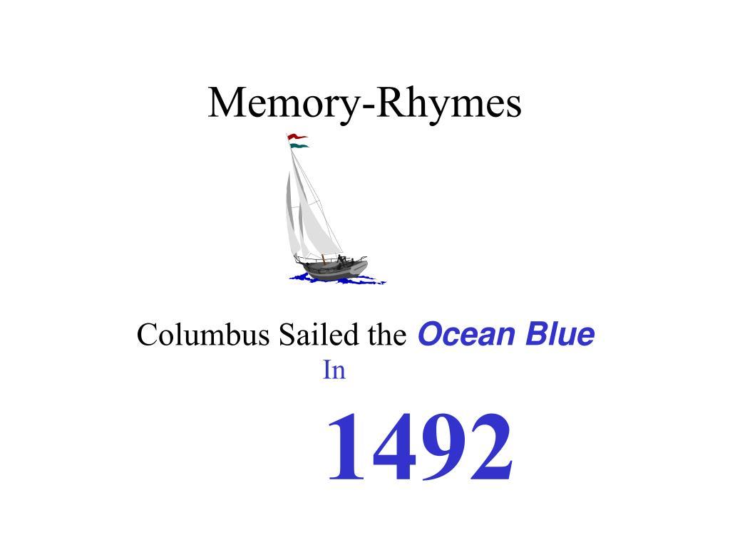 Memory-Rhymes