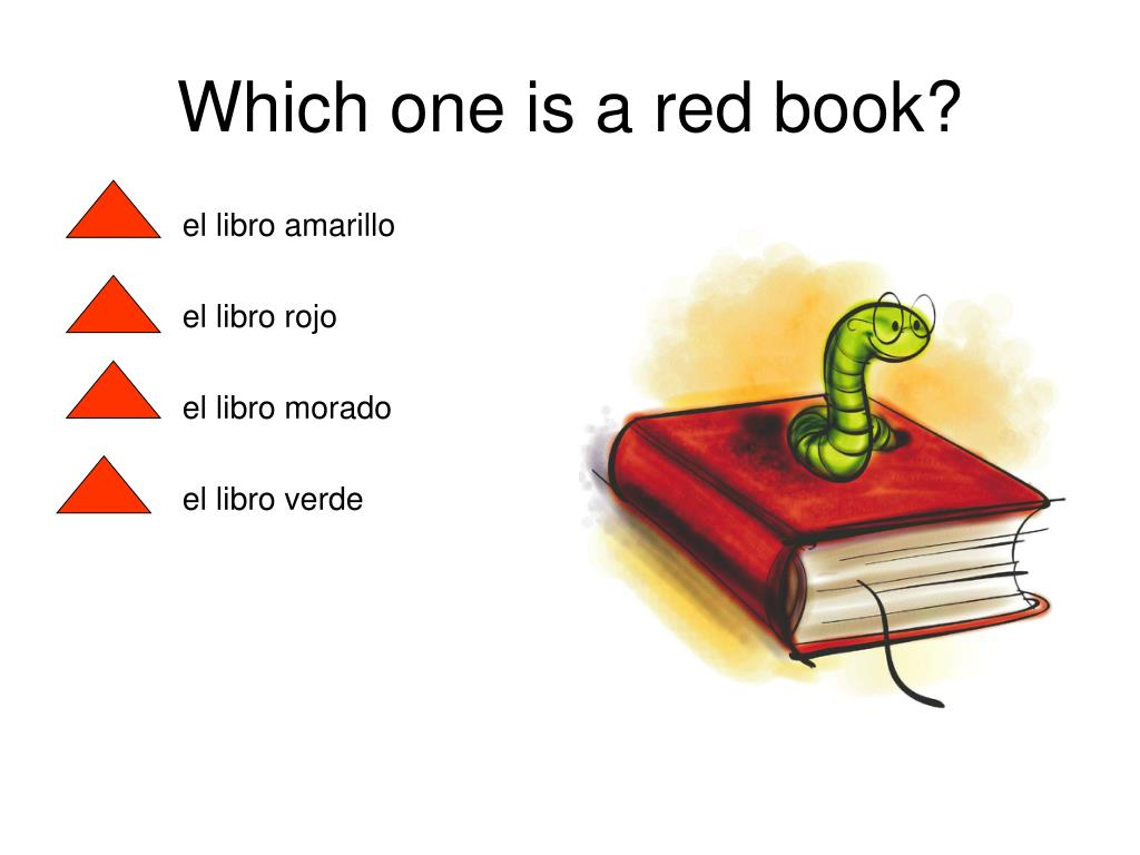 Which one is a red book?
