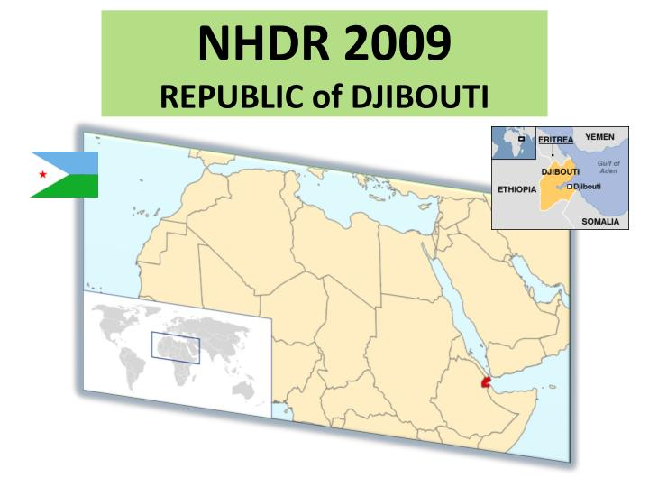 Nhdr 2009 republic of djibouti