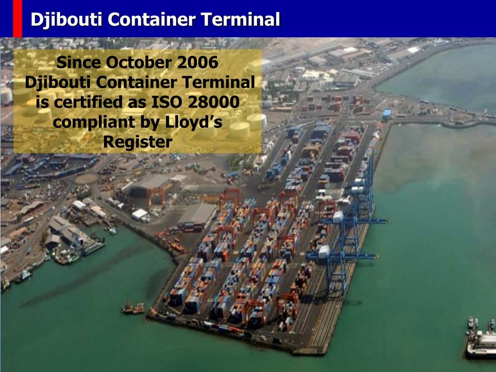 Djibouti Container Terminal