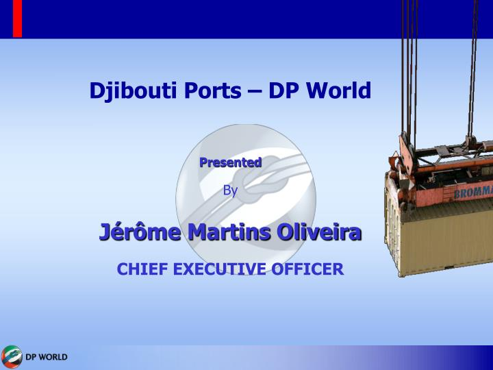 Djibouti Ports – DP World