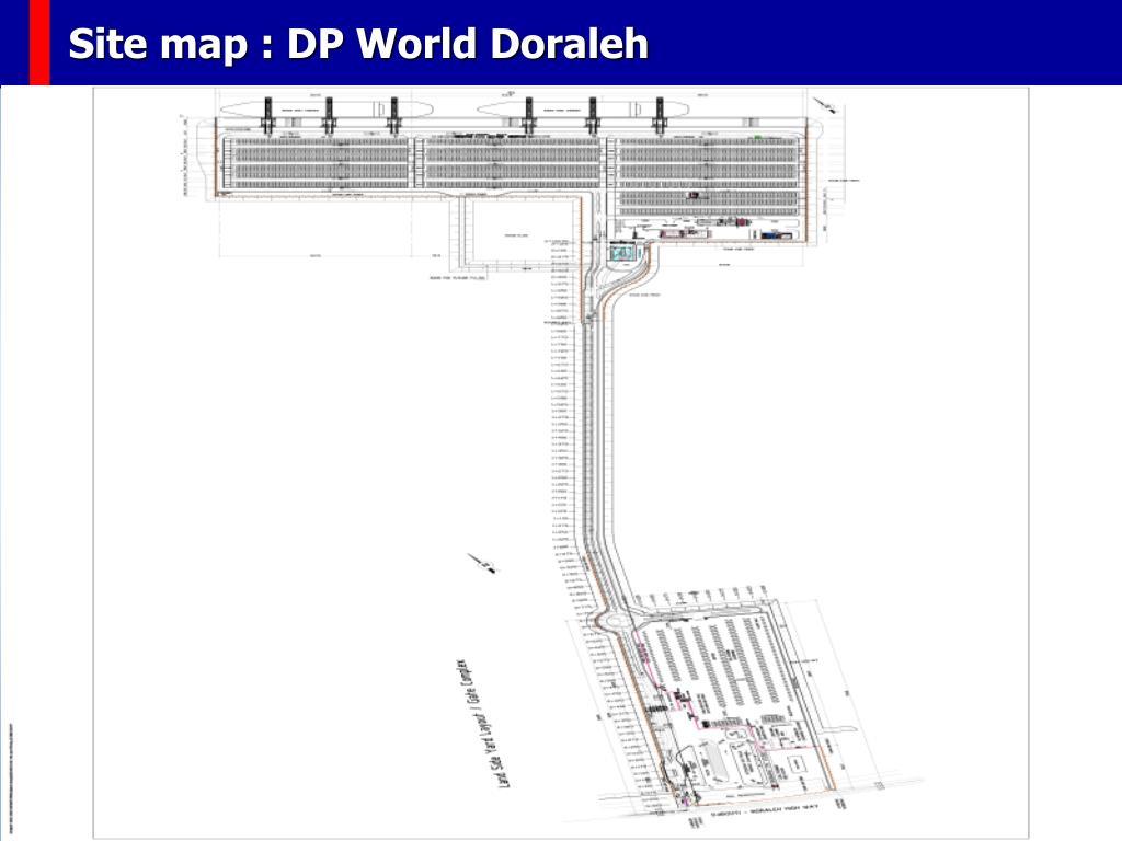 Site map : DP World Doraleh