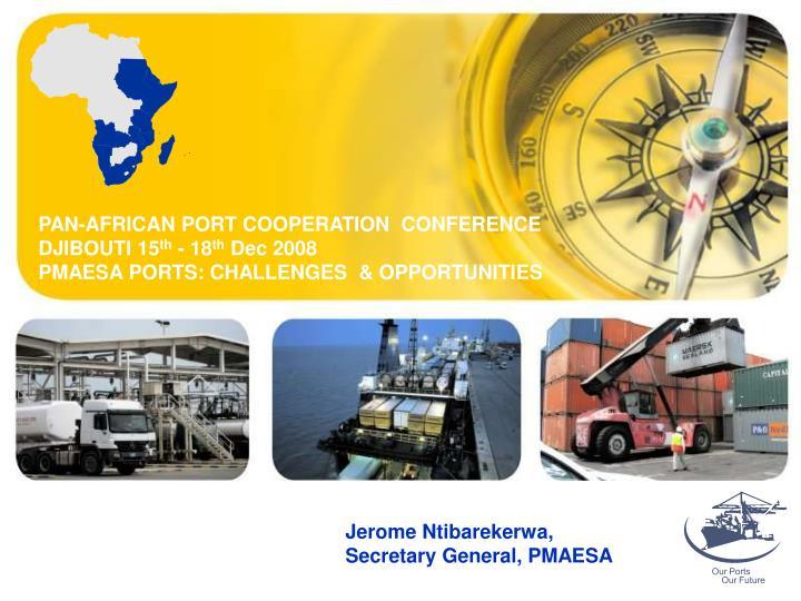 PAN-AFRICAN PORT COOPERATION  CONFERENCE