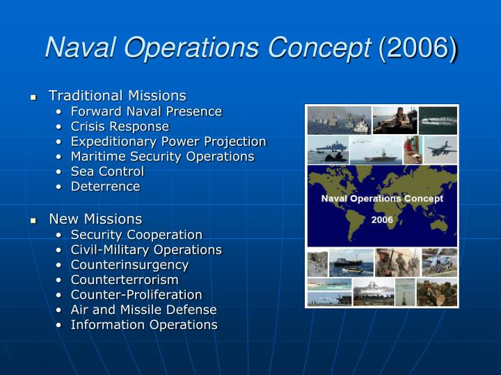 Naval Operations Concept