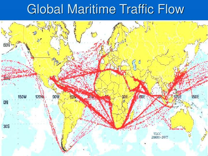 Global Maritime Traffic Flow