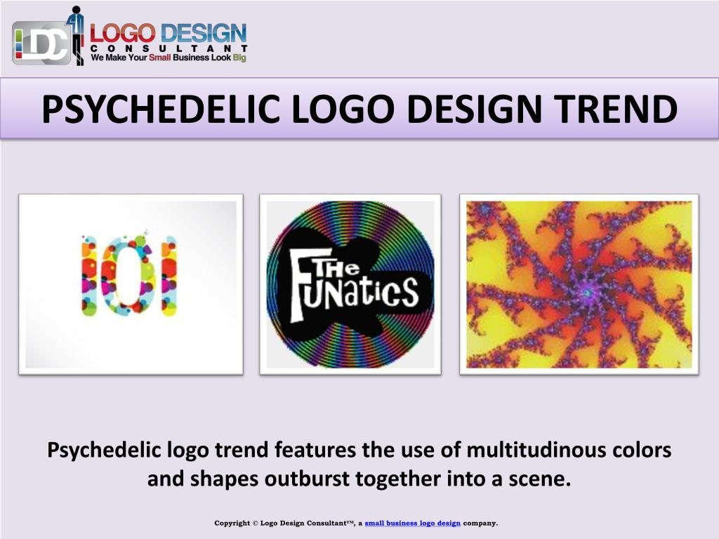 PSYCHEDELIC LOGO DESIGN TREND
