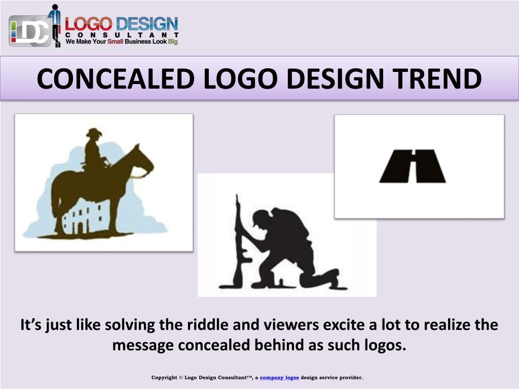 CONCEALED LOGO DESIGN TREND