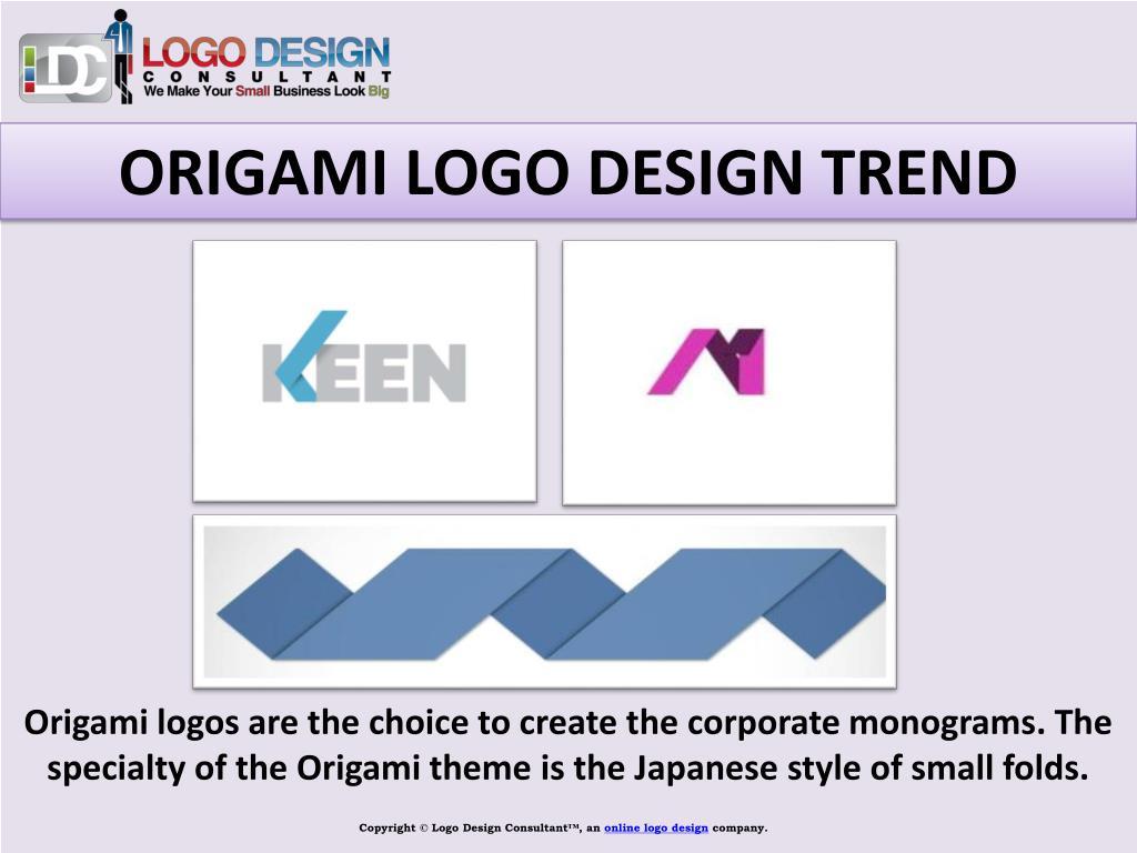 ORIGAMI LOGO DESIGN TREND