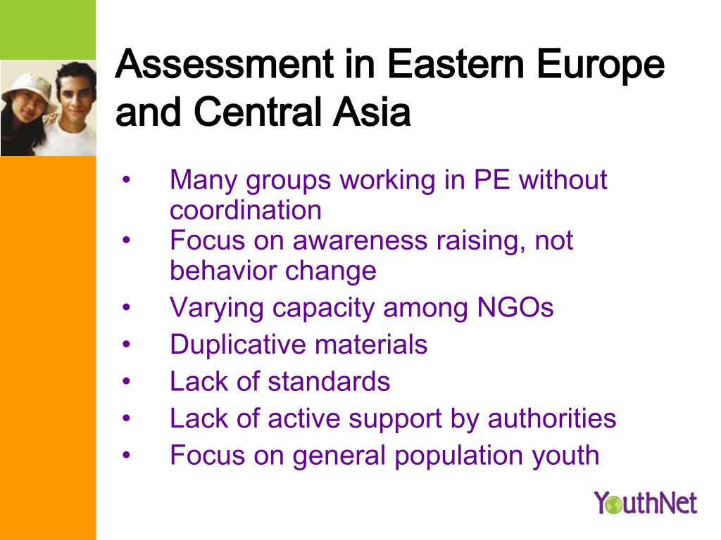 Assessment in Eastern Europe and Central Asia