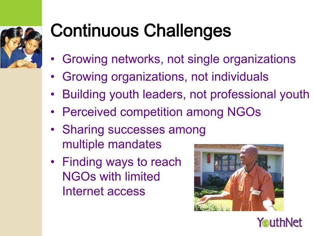 Continuous Challenges