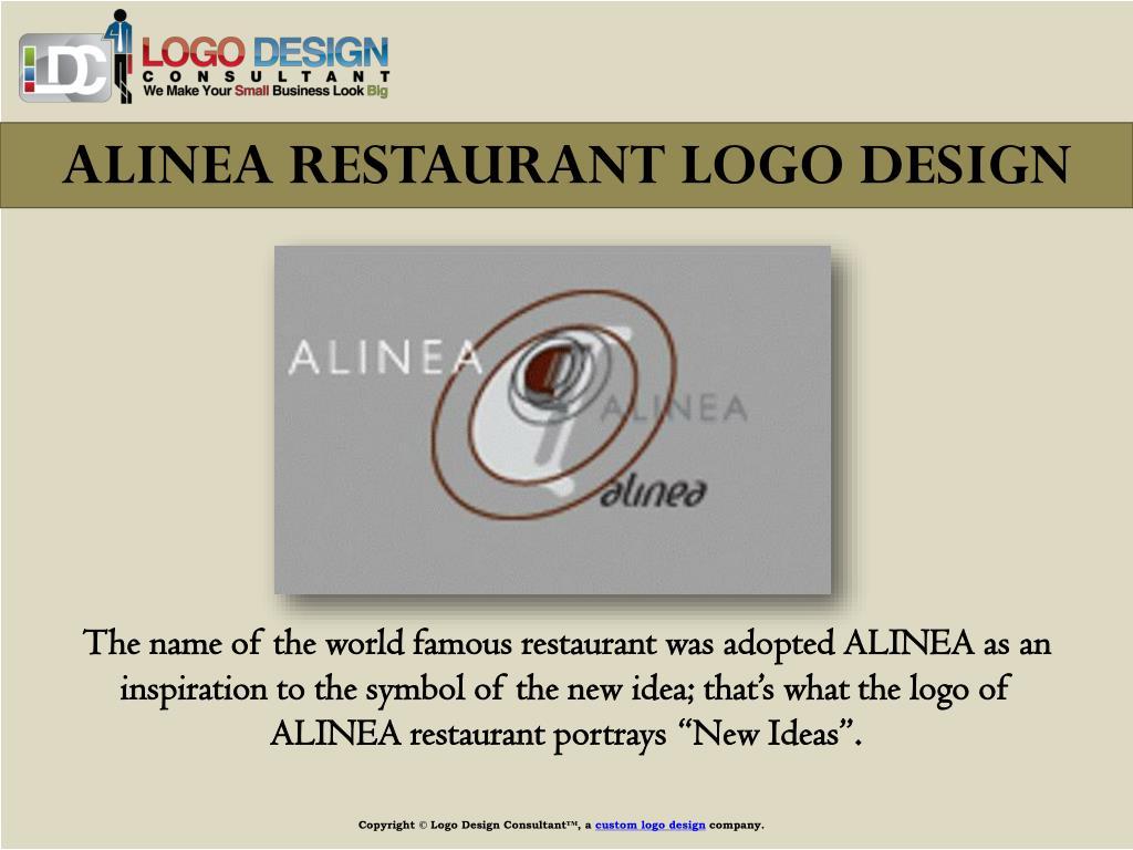 ALINEA RESTAURANT LOGO DESIGN