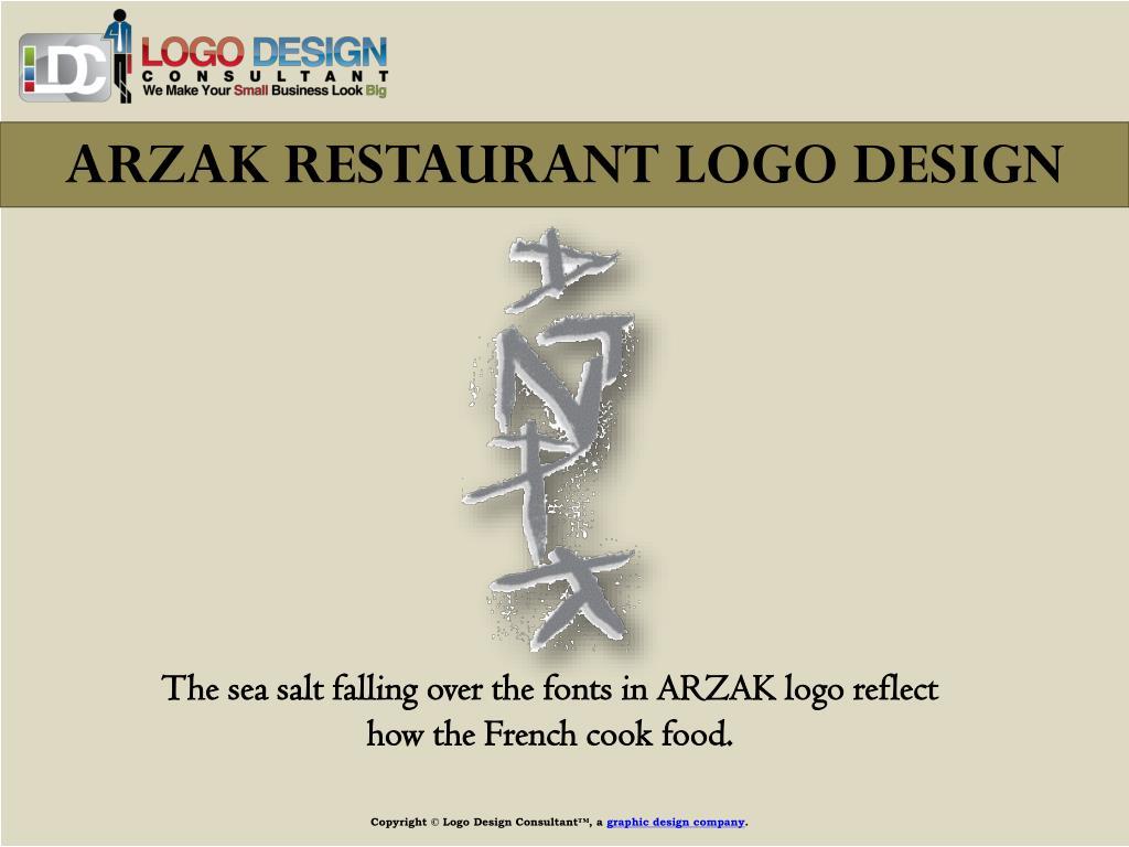 ARZAK RESTAURANT LOGO DESIGN