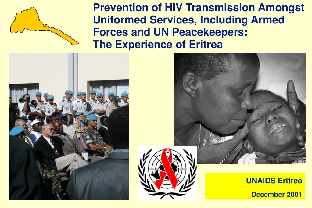 UNAIDS Asmara, February 2001