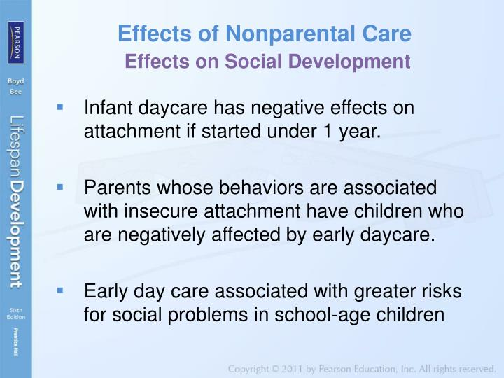 Effects of Nonparental Care