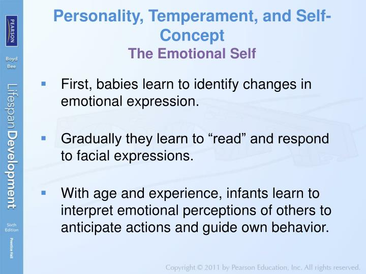 Personality, Temperament, and Self-Concept