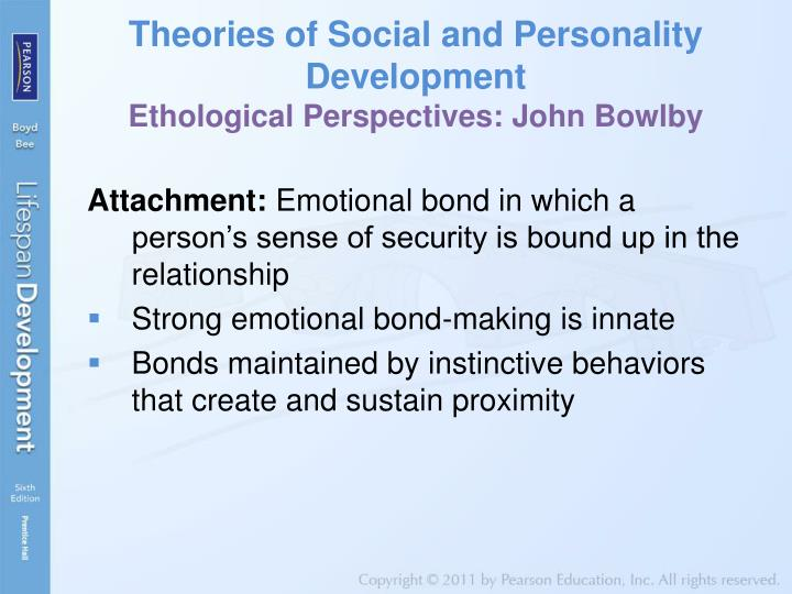 Theories of Social and Personality Development