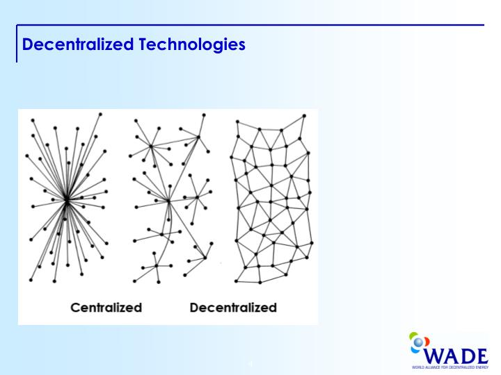 Decentralized Technologies