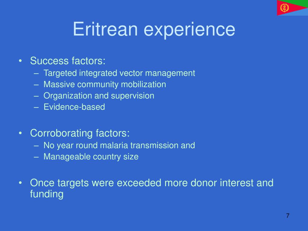 Eritrean experience
