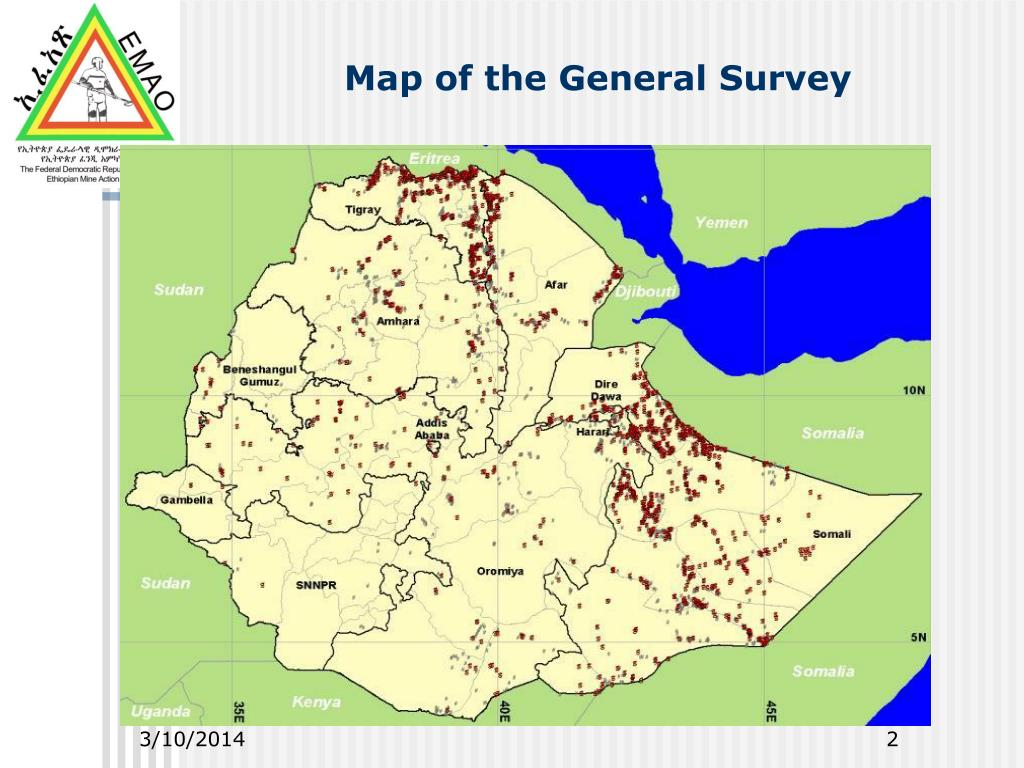Map of the General Survey