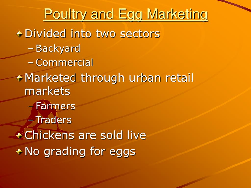 Poultry and Egg Marketing