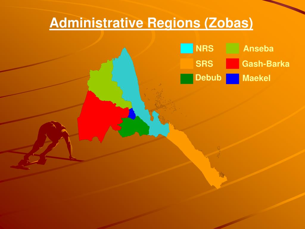 Administrative Regions (Zobas)