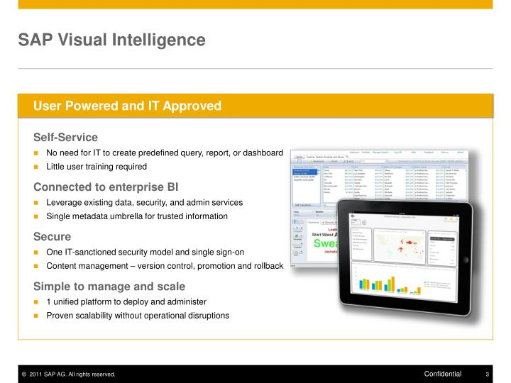 SAP Visual Intelligence