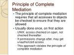 principle of complete mediation