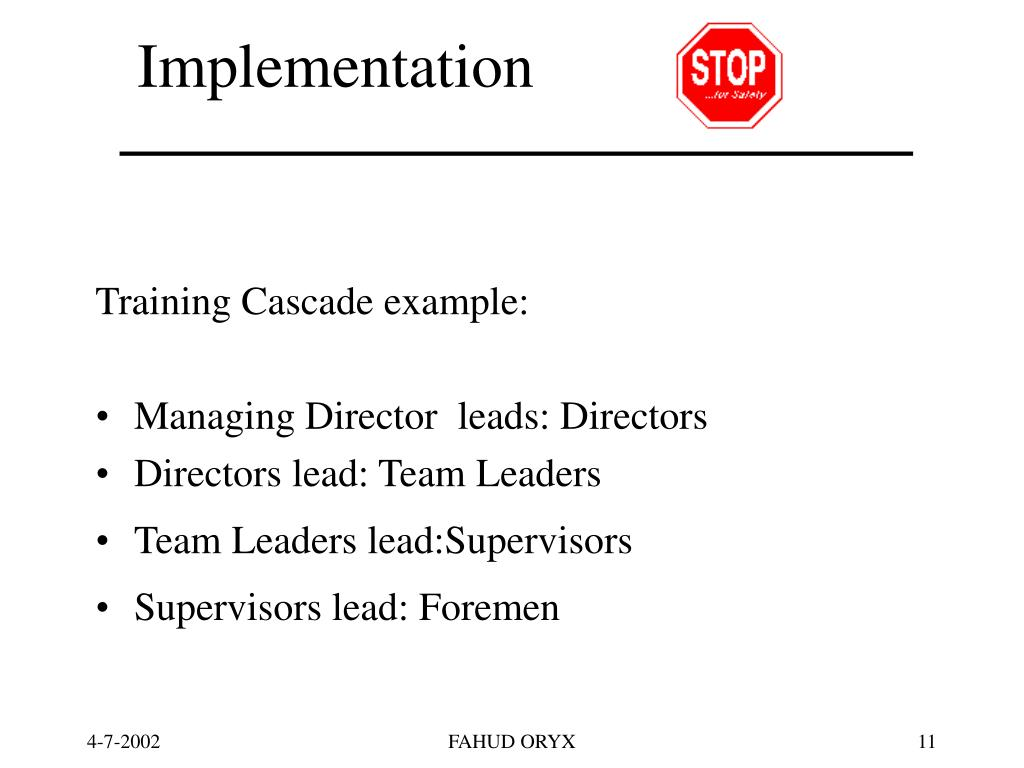 Implementation            of