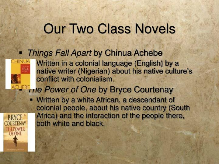 Our Two Class Novels