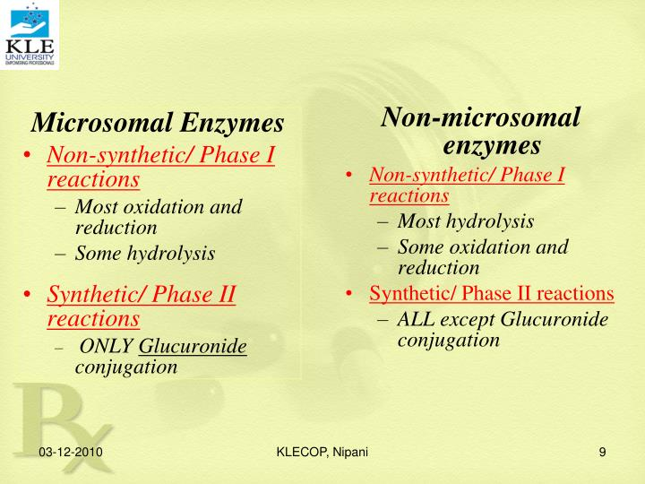 Non-microsomal enzymes