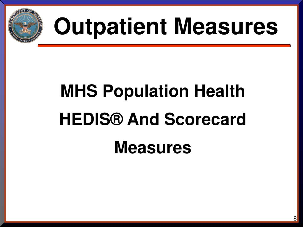 Outpatient Measures